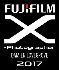 Fujifilm X Photographer Damien Lovegrove 2017