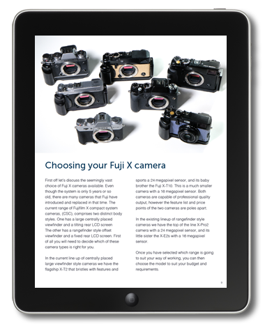 Fuji X System Guide eBook Preview