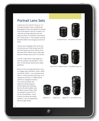 Fuji X System Guide eBook Sample Page