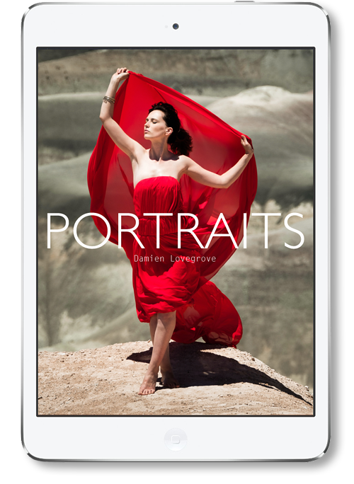 Portraits - an ebook by Damien Lovegrove