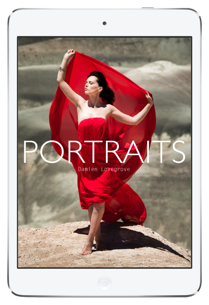 Portraits photography ebook by damien lovegrove fandeluxe Images