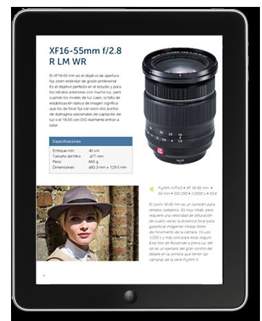 Fujifilm X e-book muestra