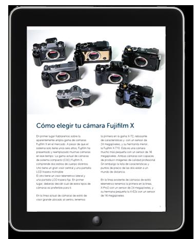 Guía del sistema Fujifilm X