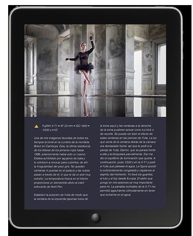 Retratos e-book muestra